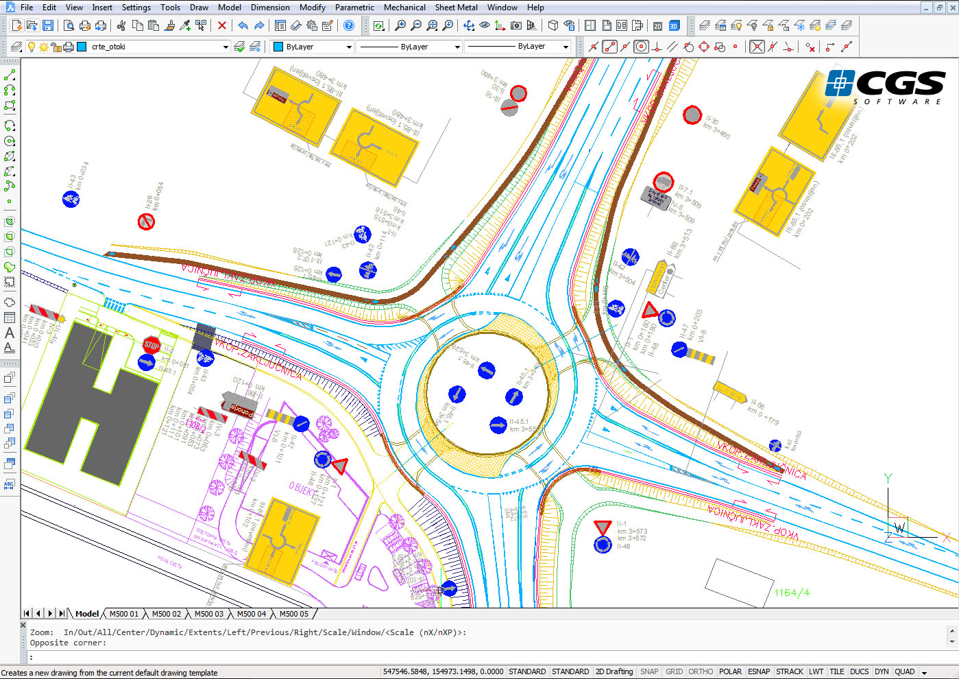 Cgs Plus Releases Plateia 2015 For Road Design Tenlinks News