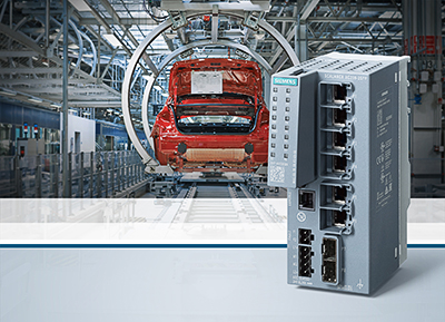 Industrial Ethernet Switches für zuverlässige Kommunikation in der Automatisierung / Industrial Ethernet switches for reliable communication in automation