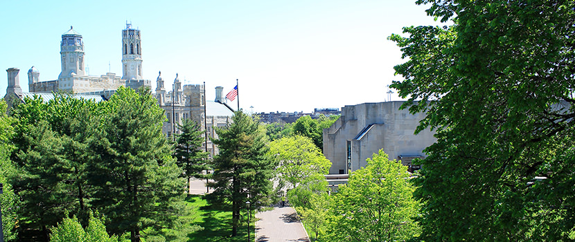Lehman College's campus in Bronx, NY